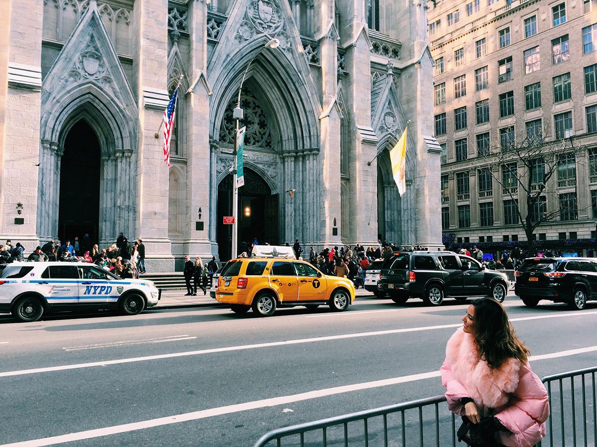 Candela Gomez Catedral de San Patricio de New York