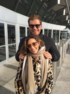 Darek y su novia Candela Gomez