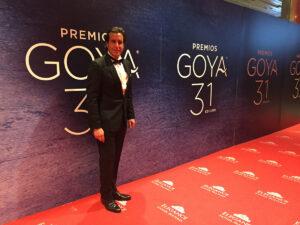 José Joaquín Cortés Premios Goya 2017