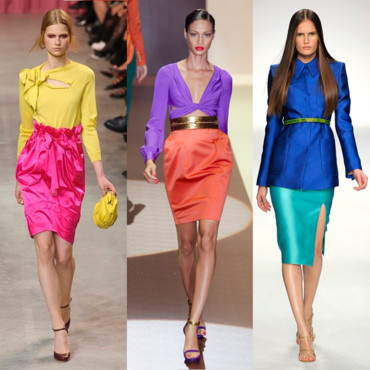 Moda chicas COLOR BLOCK EL hit de la primavera 2017