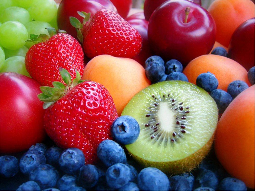 fruta para la merienda