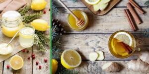 beber agua con limón y miel
