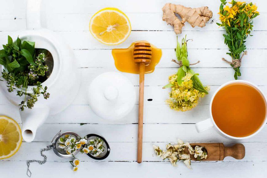 curcoma limón y miel