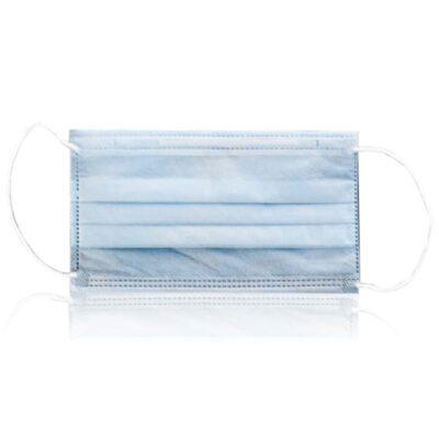Mascarillas desechables algodón respirable alta calidad y protección.