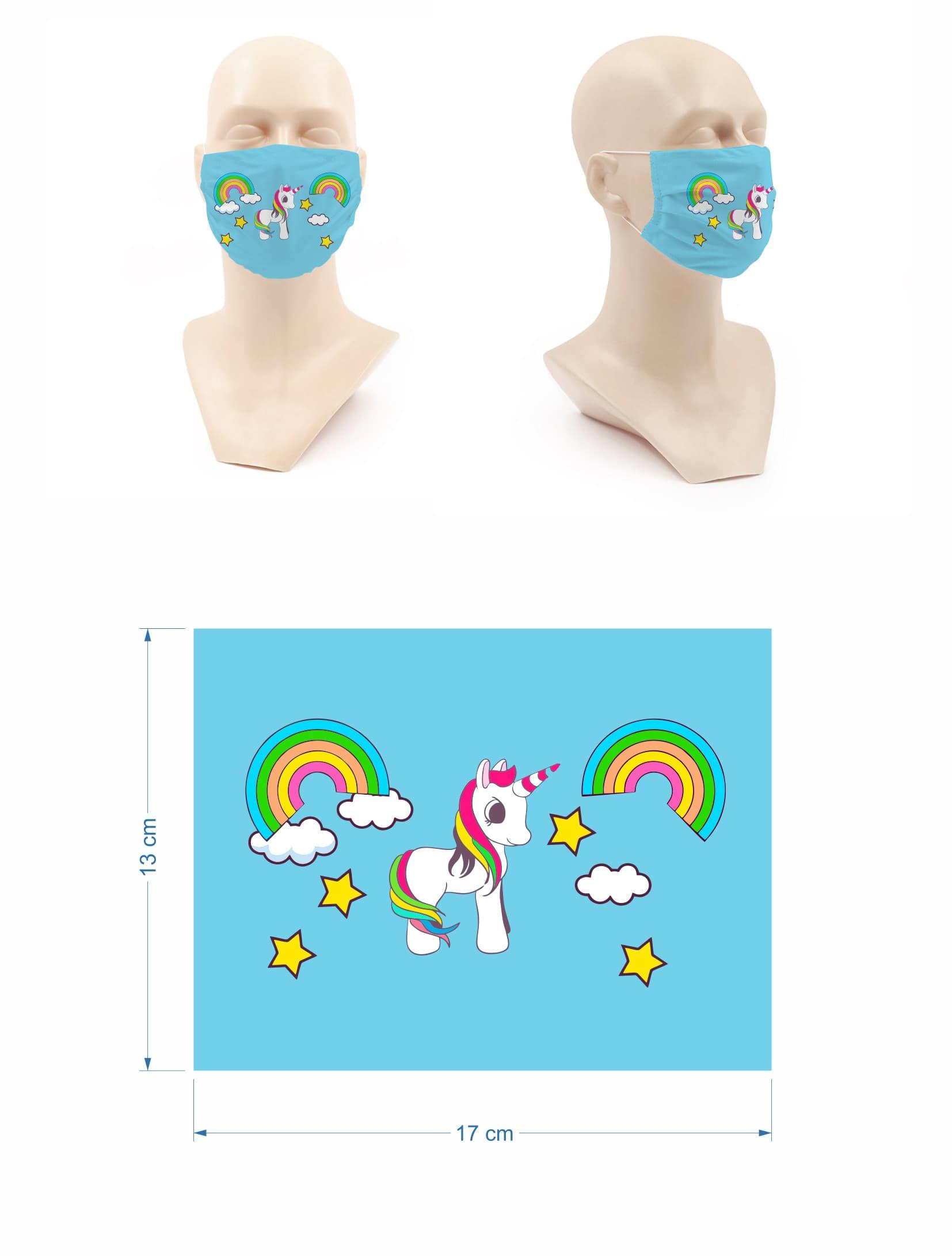 Mascarillas para niñas con dibujos