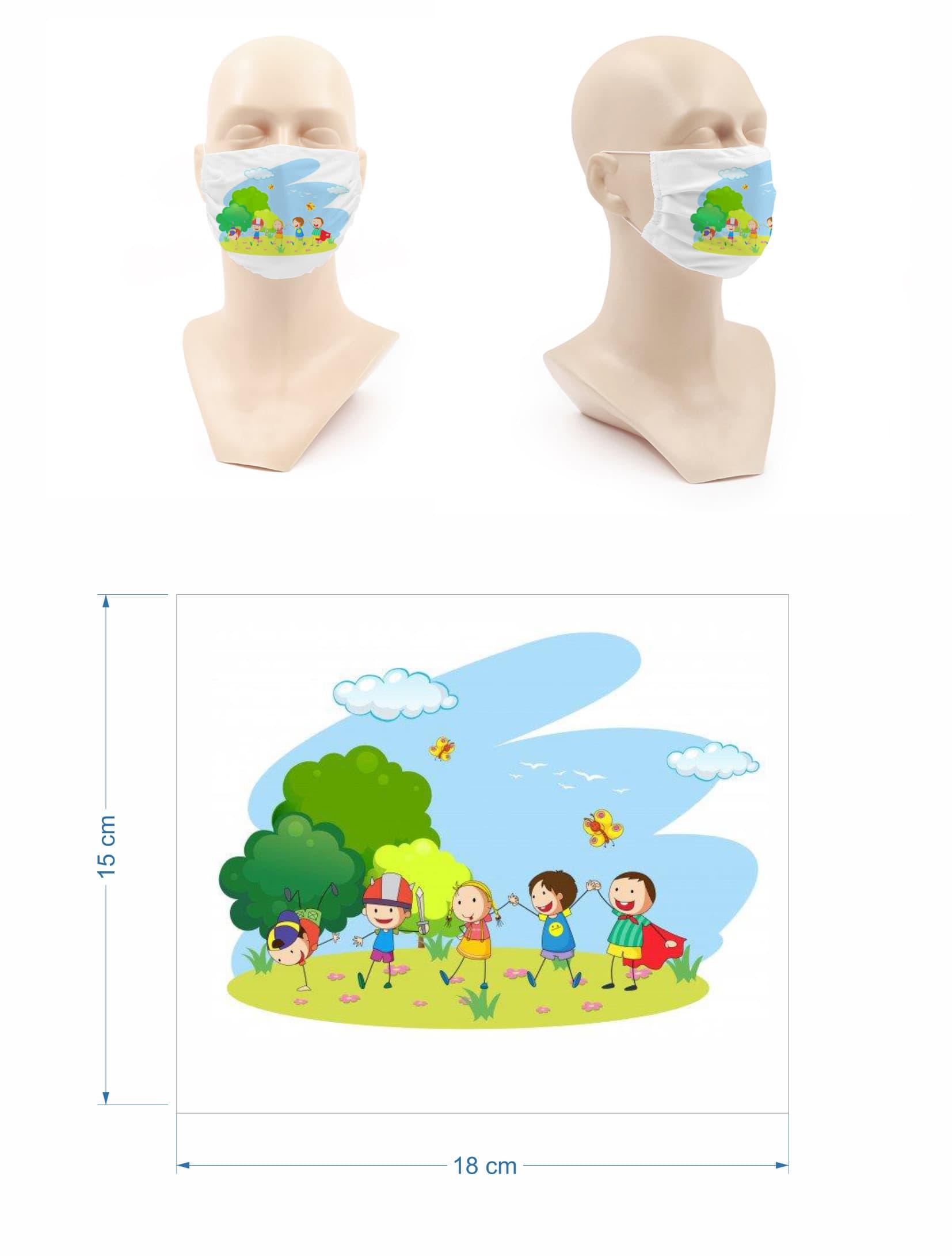Mascarillas personalizadas para niños optimizada