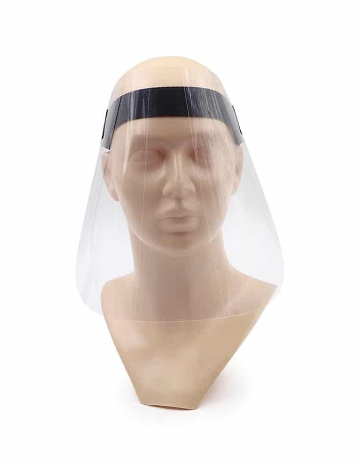 Pantallas faciales anti-contagio Máscara para protección facial