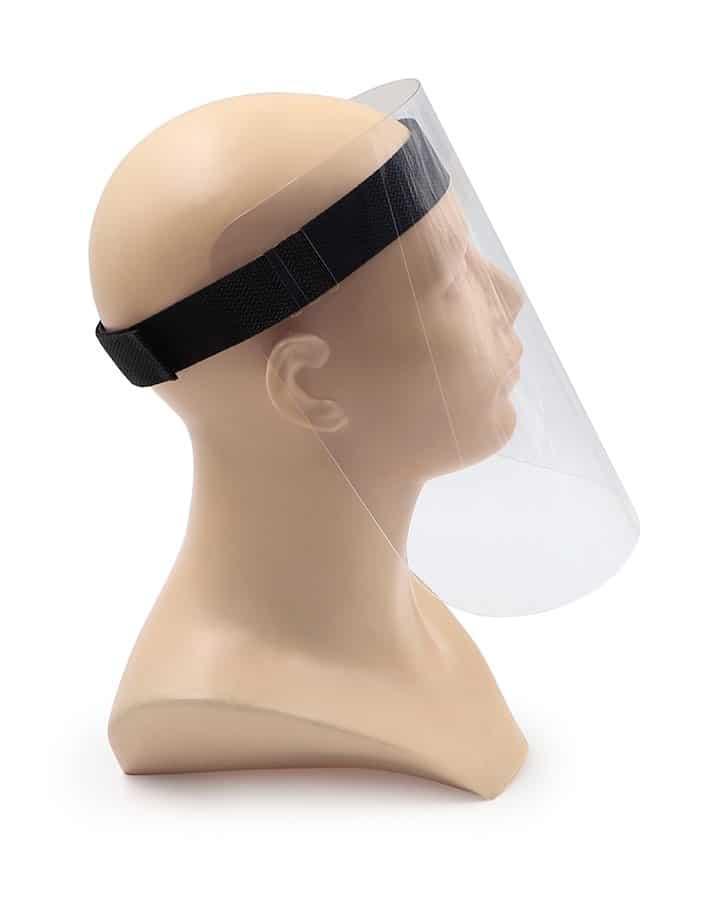 Máscara para protección facial Pantallas faciales anti-contagio