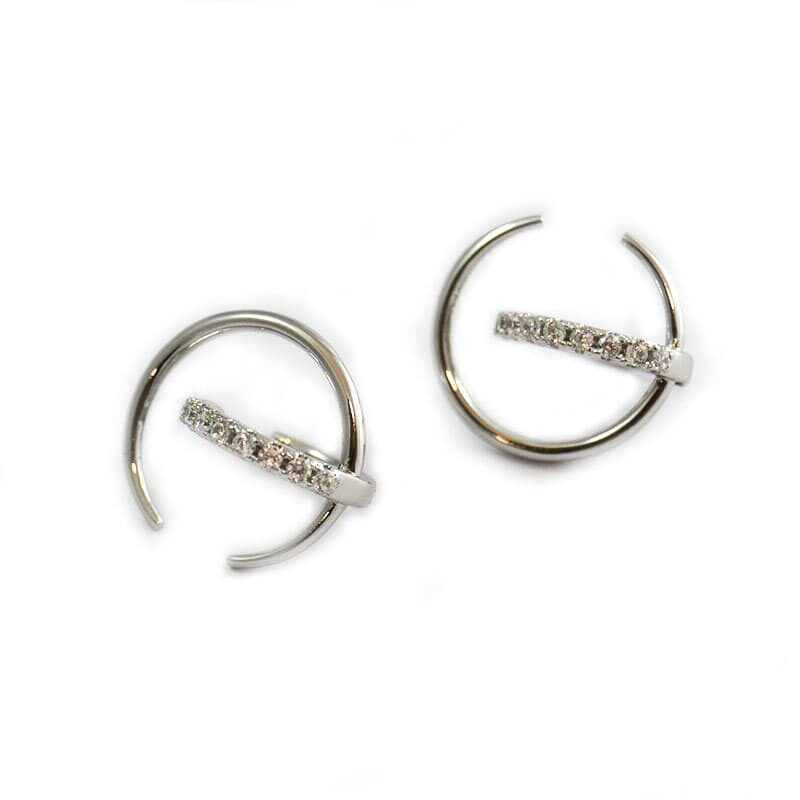 Golfi gold hoops | CUPIDO SILVER