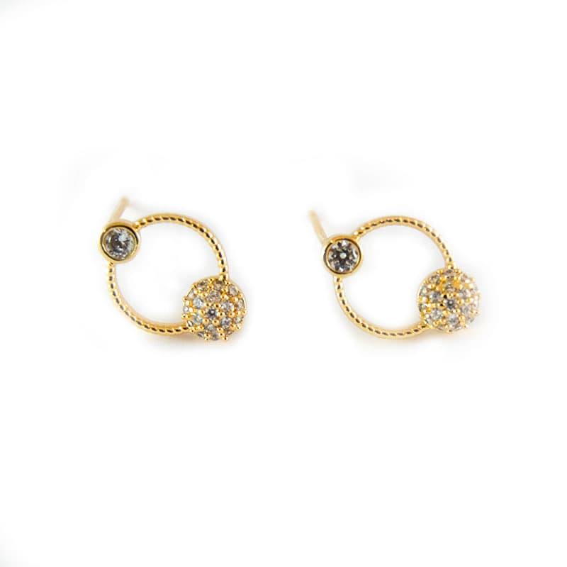 Golfi gold earring GALAXY GOLD