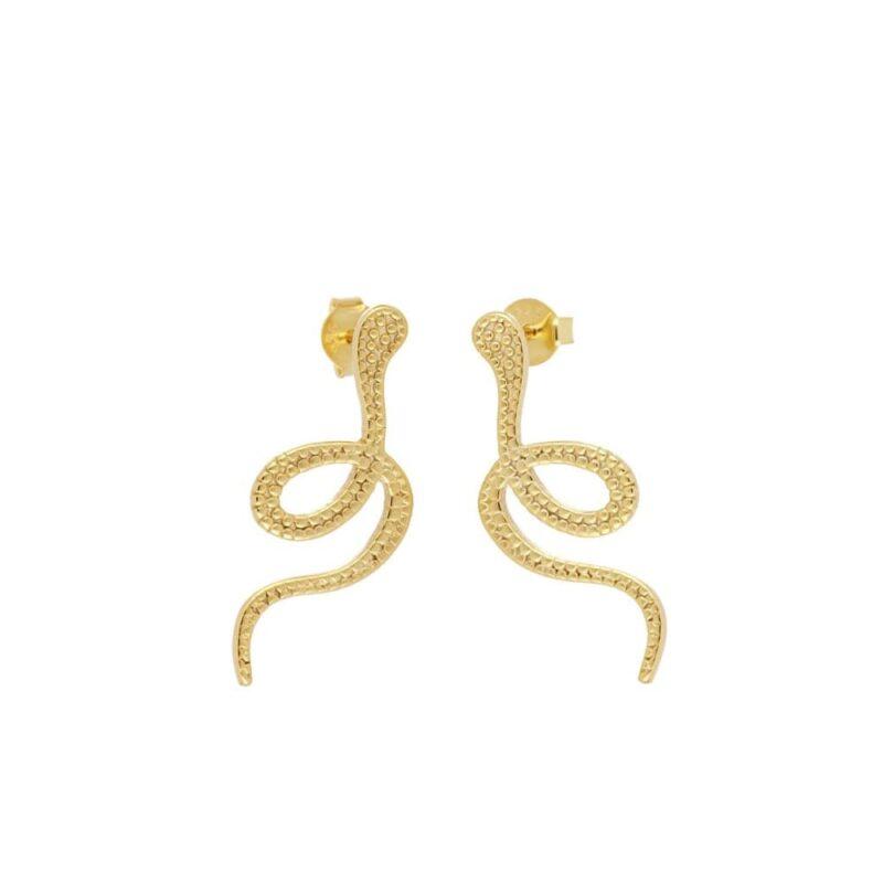 earing serpent gold